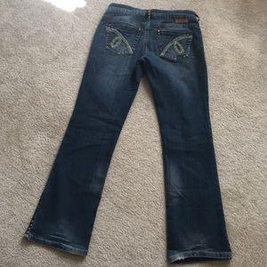 Cowgirl Tuff Gypsy Bootcut Jeans 30x33